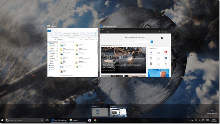 virtual desktops