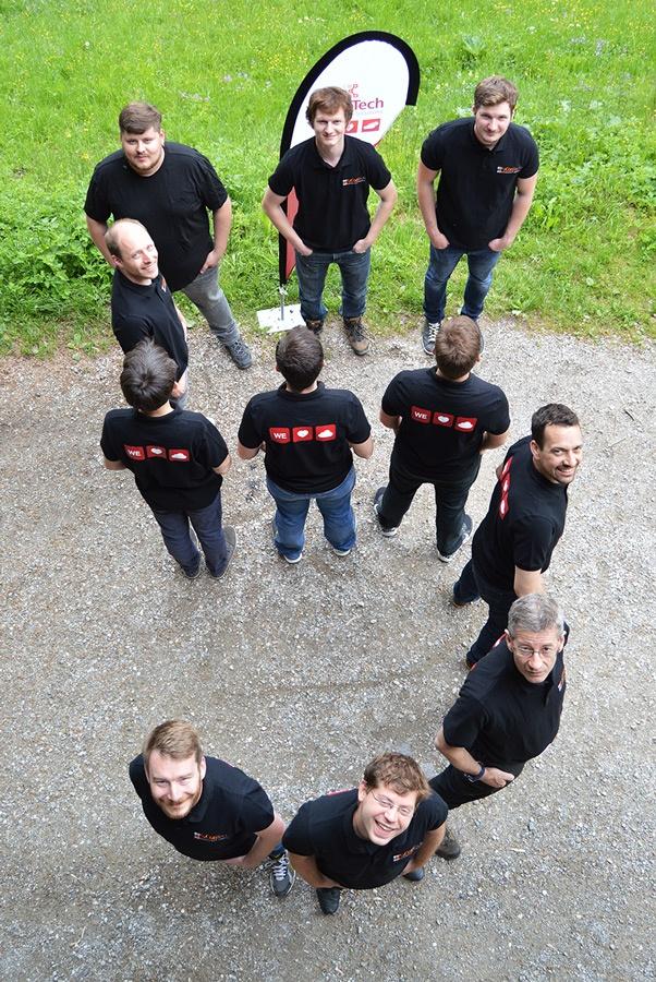 Teambild 5 Jahre aConTech