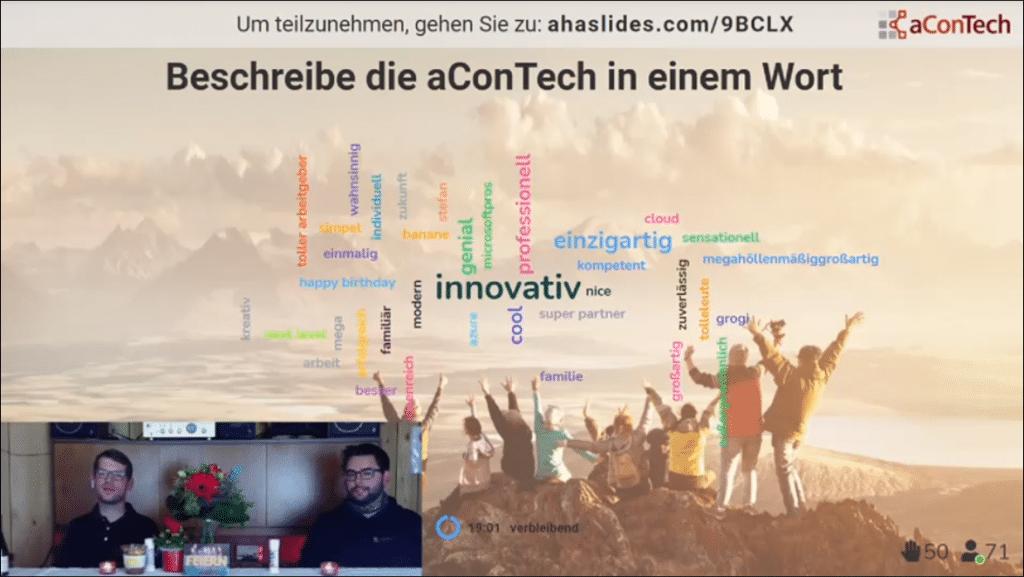 Assoziationen zu aConTech