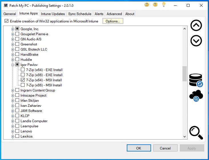 Patch my PC - Softwarepaketierung - Intune Apps